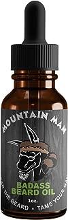 Badass Beard Care Beard Oil For Men – Mountain Man Scent, 1 oz – All Natural..