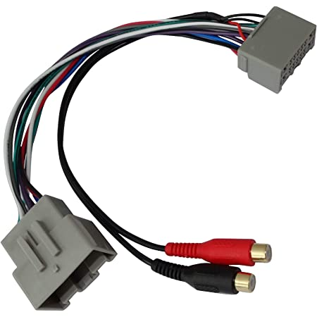 Aerzetix Rca Adapterkabel 24 Pin Für Autoradio Elektronik