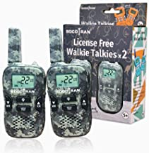 Kids Walkie Talkies Camouflage Walkie Talkies for Boys Girls Outdoor Camping 2 Pack 2 Way Radios Long Range 3 Miles FRS Rechargeable Kids Mini Army Walky Talky Toys Gifts for Hunting Adventure