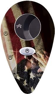 Xikar Xi1 Custom Cigar Cutter, Patriot Theme, Stainless Steel, Lock System, Cuts 54 Ring Gauge Cigars, Amazon Exclusive