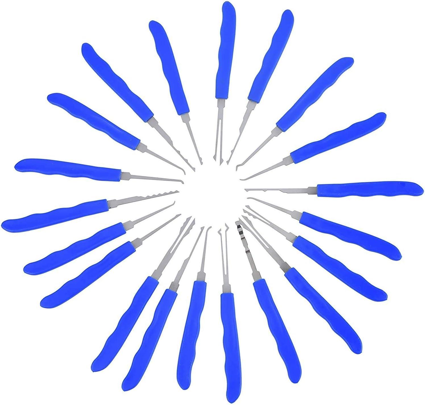 Blue 24-Pieces Professional Set with 2 Padlocks