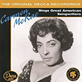 album cover: Carmen McRae sings The American Songbook