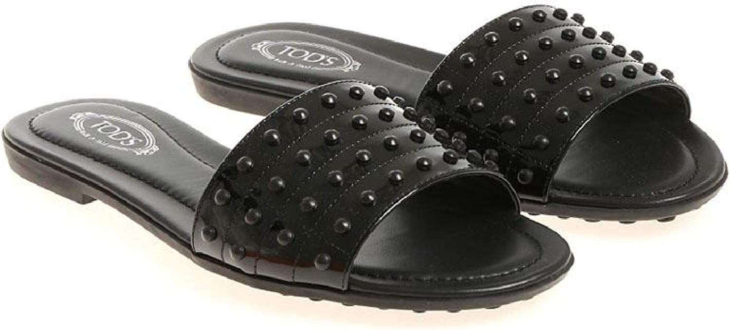 Tod's Women's Patent Leather Slippers