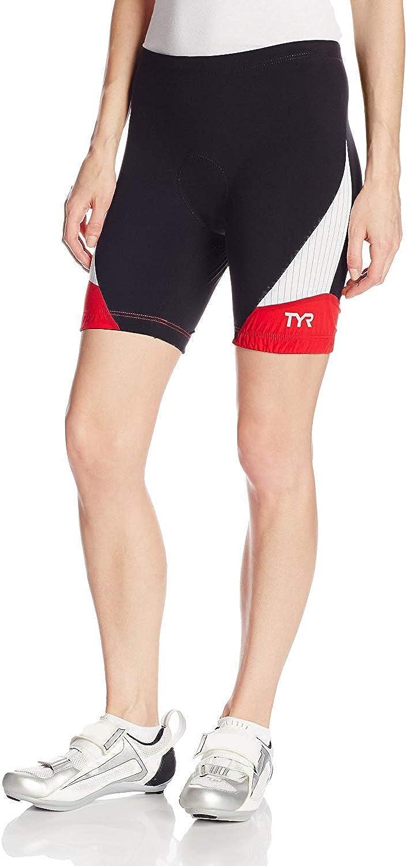 TYR Sport Damen Sport Carbon 6 Zoll Tri Kompressionshose