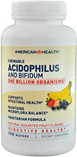 American Health Acidophilus Chew Fruit, 100 ct