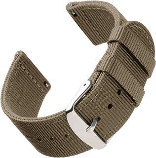 Archer Watch Straps   Premium Cinturino di Nylon Ricambio Sgancio Rapido Cinghia Orologio per Donne e Uomini, Orologi e Sm...