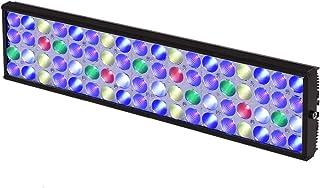 S50 LED水族箱 灯 用于盐水珊瑚礁水族的远程控制 4 通道的 Dimmable 的完整规格 盐水海洋水箱 灯LED水族箱 灯 观赏用灯