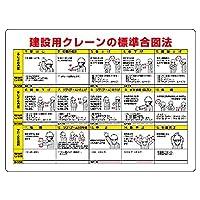 【327-32A】クレーン合図法無線手合図併記型