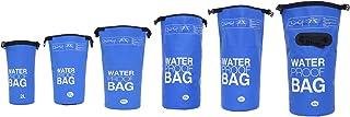 Bolsa Impermeable Bolsa para almacenar Tus Objetos de Valor Ideal para Practicar Kayak navegación Rafting Pesca natación Camping Senderismo tamaños