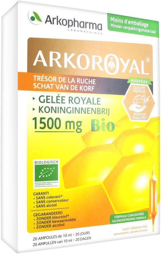 ARKOPHARMA ARKO ROYAL Gelée Royale 1000 ampoules mg Gorgeous 20 Sales for sale