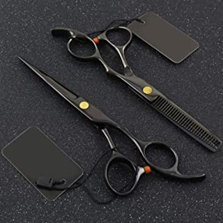 Professional Hairdressing Scissors 6.0 Inch - Stainless Steel Razor Sharp Shears - Barber Hair Cutting Scissors with Case,...