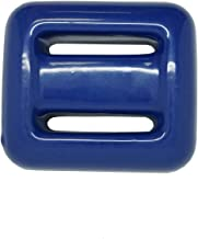 Scuba Choice Blue Vinyl Coated Diving Lead Weights, 2LB