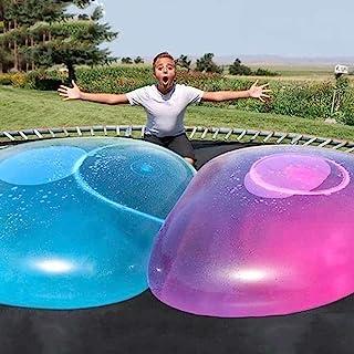 2 pcs Wubble Bubble Ball Water Bubble Balloon Inflatable Funny Toy Ball Inflatable Ball Beach Garden Ball for Outdoor Indo...