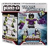 KRE-O Transformers Micro-Changers Combiners Construction Devastator Set (A2224)