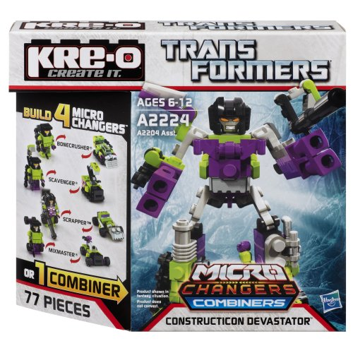 Kre-O Transformers Micro-Changers Combiners CONSTRUCTICON DEVASTATOR