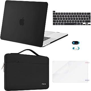 MOSISO Funda Dura Compatible con 2020 2019 MacBook Pro 16 con Touch Bar A2141, Plástico Carcasa Rígida & Funda Protectora ...