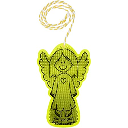 Reflektor Aufkleber Schmetterling Reflexfolie Sticker Reflektierend Zitronengelb Sport Freizeit