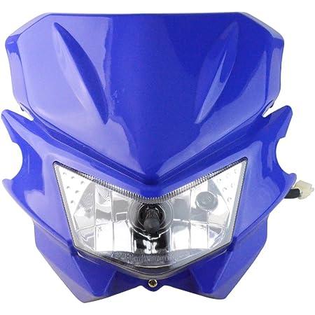 Polisport Blue MMX Universal Headlight Dirtbike Motocross Bike Yamaha