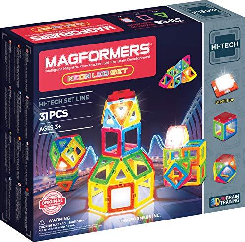 Magformers 709007neón LED Set