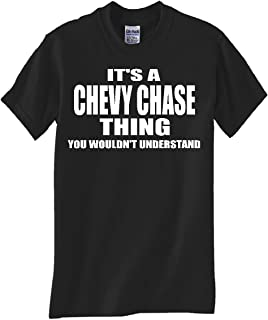 Chevy Chase Thing Black T Shirt