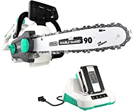LiTHELi 40V 14 inches Cordless Chainsaw with Brushless Motor, 2.5AH Battery and Charger