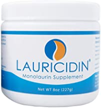 Lauricidin®- The Original Monolaurin Supplement- 3000mg per Serving- 227g per Jar