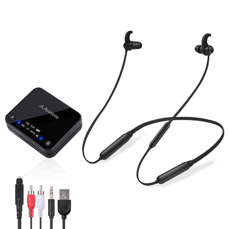 Avantree Wireless Headphones Bluetooth Transmitter