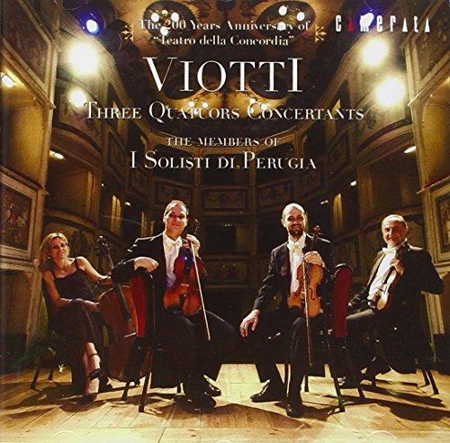 Viotti: Three Quators Concerta