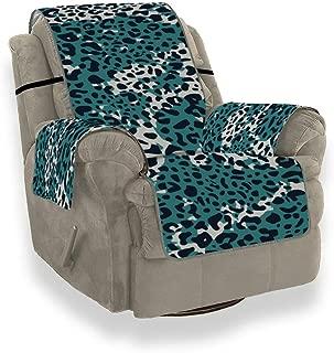 Funny Zebra Leopard Print Art Slipcover Chaise Lounge Chair Thin Sofa Cushion Sofa Seat Cushion for 21