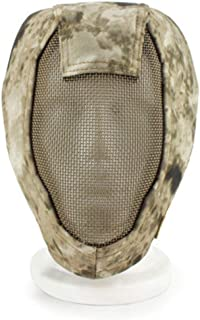 XIURAB Breathable Steel Wire Tactical Mask, Fencing Mask, Tactical Iron Mesh Protective Mask, Suitable for Various Outdoor...