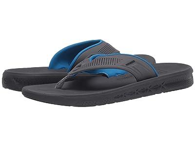Quiksilver Current Water-Friendly Sandals (Grey/Grey/Grey) Men