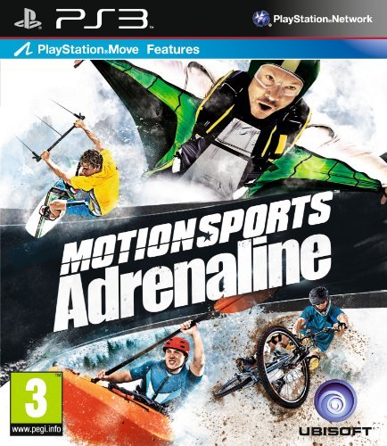 Motionsports: Adrenaline - Move Compatible (PS3) by UBI Soft