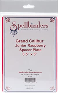 Spellbinders GC-012 Spacer Plate, Small, Raspberry