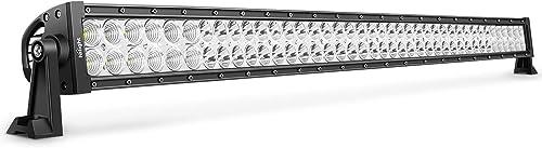 LEDLight BarNilight42Inch 240W Spot Flood Combo LED Driving Lamp Off Road Lights LED Work Lightfor TrucksBoat Jeep Lamp,2 Years Warranty