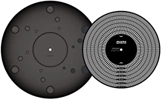 Oyaide BR-12 Turntable Mat (includes a Strobo disc and overhang gauge)