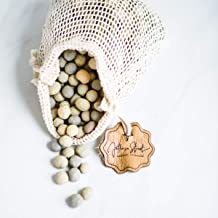 Jefferson Street Ceramics - Made in USA - Ceramic Pie Weights - Natural Clay Beads for Baking Blind Crust - 2.4 lbs with M...