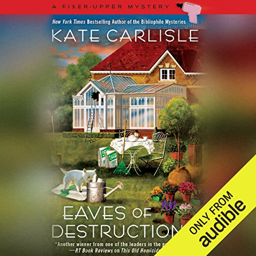 Eaves of Destruction                   By:                                                                                                                                 Kate Carlisle                               Narrated by:                                                                                                                                 Angela Starling                      Length: 7 hrs and 35 mins     255 ratings     Overall 4.6