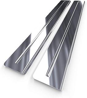 polish silver Steel rear bumper protector 5902538798808
