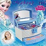 Make-up Set Für Mädchen Für Mädchen, Disney Ice Princess Make-Up Auto Spielzeug Set Mini...