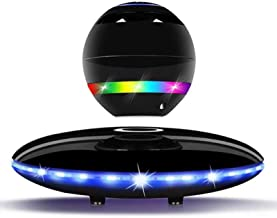 $145 » Smart Bluetooth Speakers, Magnetic levitation Sound Box, Colorful Lights Wireless Hi-Fi Speaker Systems, Wireless Floating...