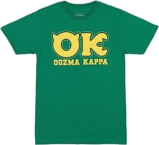 Disney Monsters University OK Oozma Kappa Member Green T-Shirt