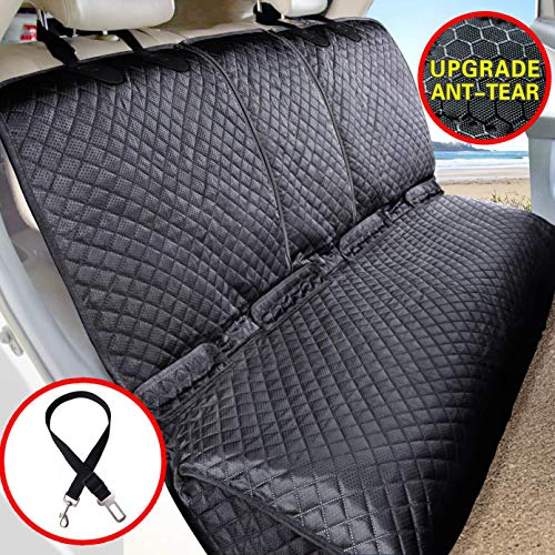 Vailge Bench Dog Car Seat Cover for Back Seat, 100% Waterproof Dog Car Seat...