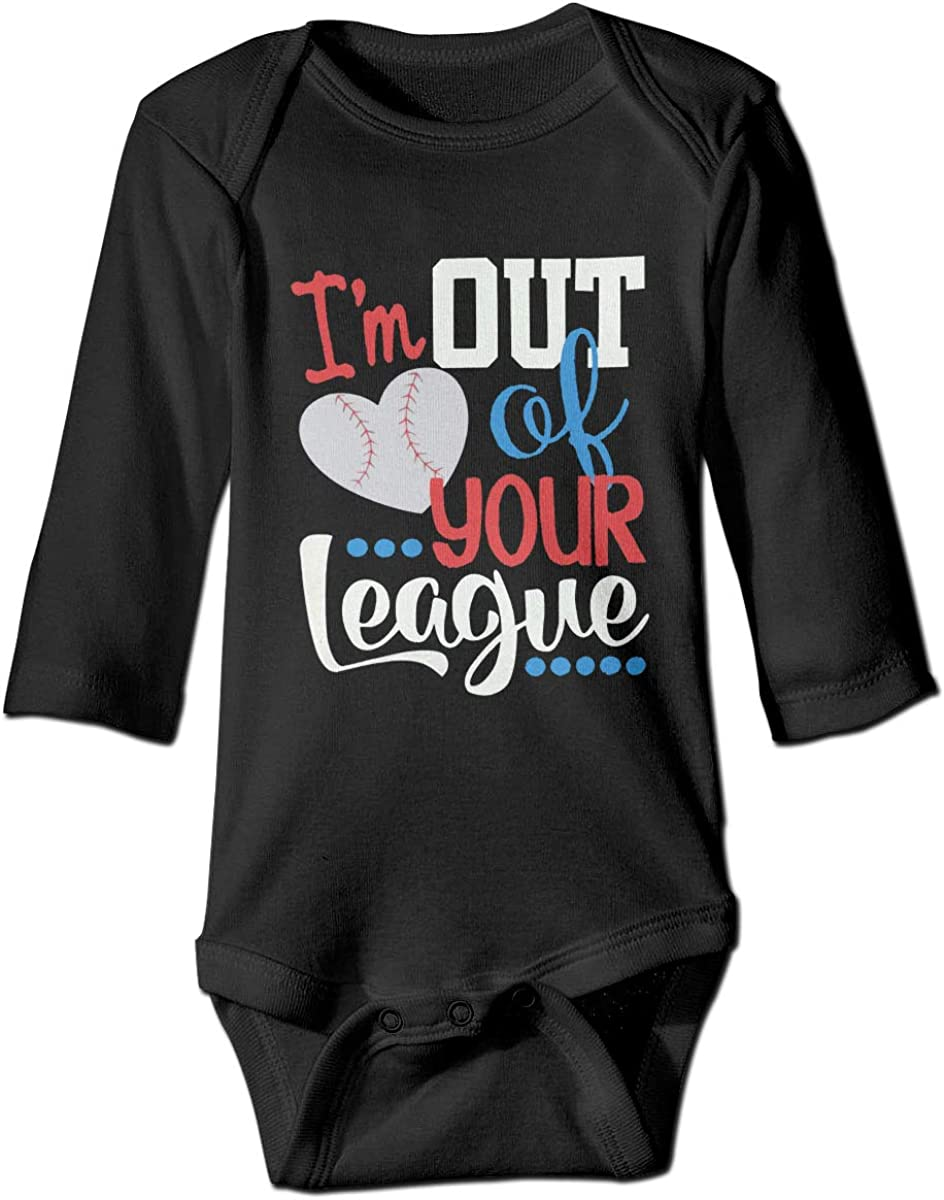 I/'m out of your league Baby Onesie