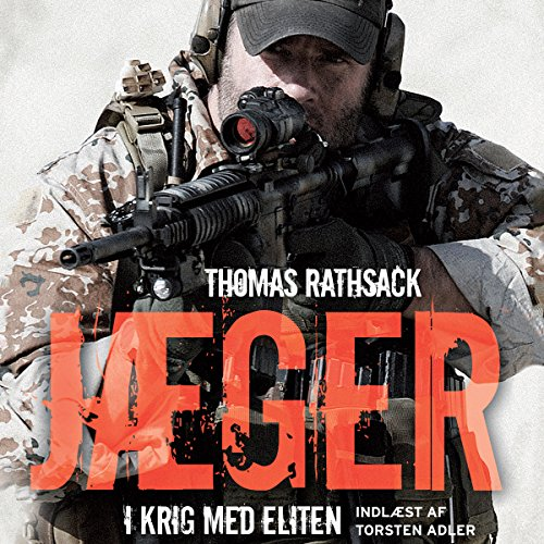 Jæger - I krig med eliten [Hunters - at War with the Elite]  audiobook cover art