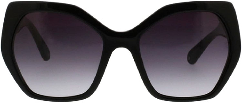 Catherine Malandrino Women's Large Geometric Modern Glam Square Sunglasses