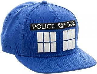 Bioworld Doctor Who Tardis Blue Snapback Hat