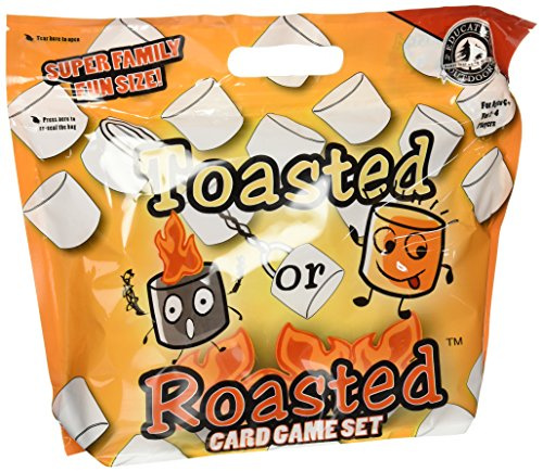 Education Outdoors Toasted or Roasted Card Game
