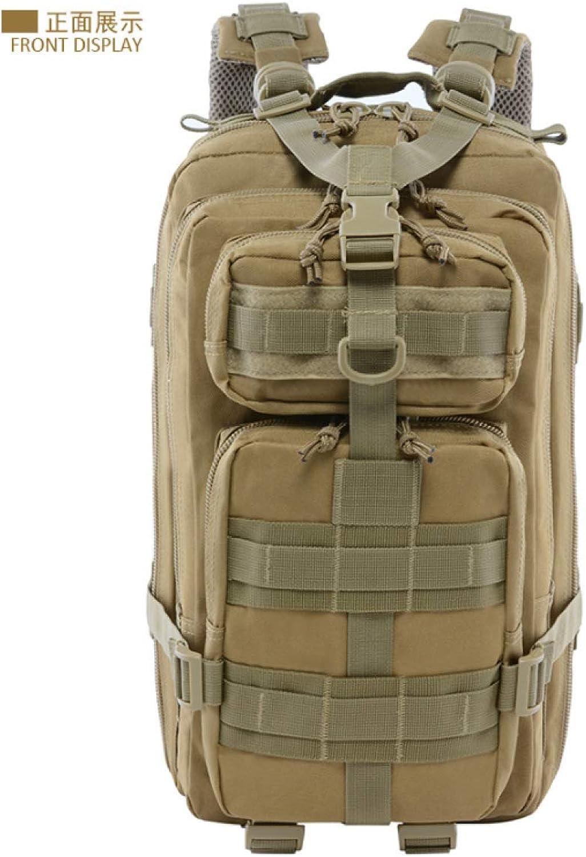 QWKZH Taktischer Angriffsrucksack im Freiensport Multifunktions-Tarnungrucksack Armee-Fanrucksack taktischer Rucksack