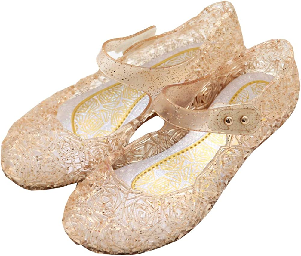 Ranking TOP19 Vokamara Princess Girls Sandals Jelly Dance Mary Cosp High quality new Jane Party