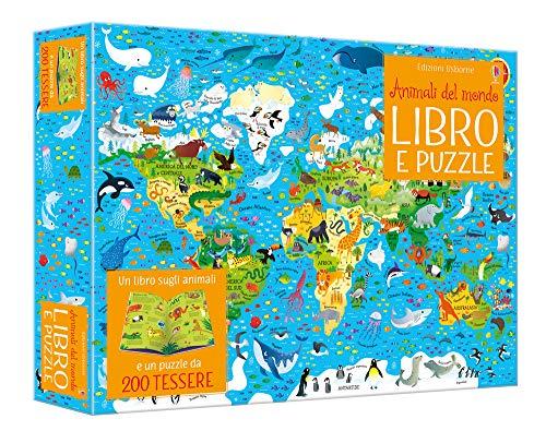 Animali del mondo. Ediz. a colori. Con puzzle